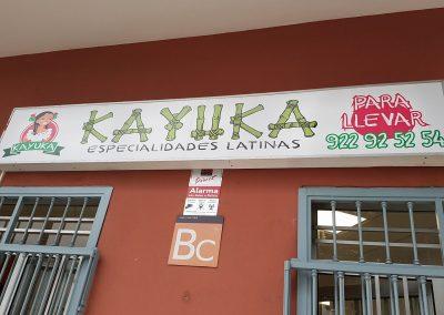 bar kayuka comida para llevar